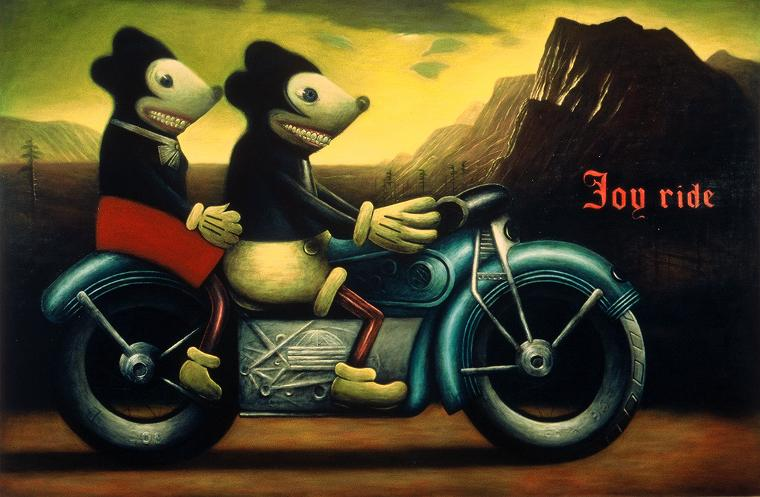 Joy_Ride, jeff_starr_art,Disney, road_trip, Micky_mouse